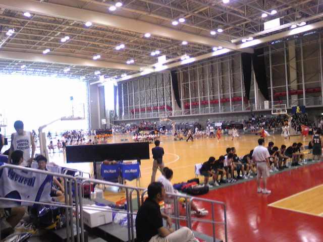 大学バスケ合宿参加