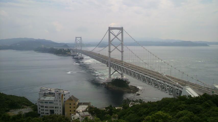 鳴門大橋!