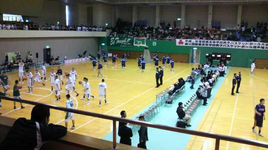 高校関東大会観戦