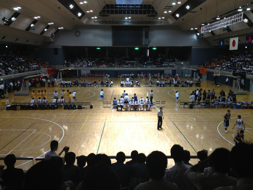 関東大会観戦