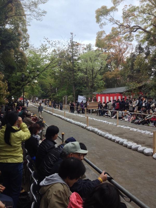 鎌倉の流鏑馬