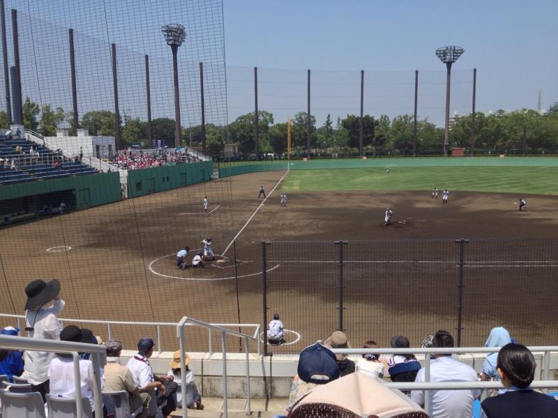 灼熱の高校野球観戦
