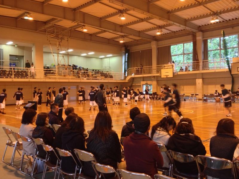 高校新人大会観戦