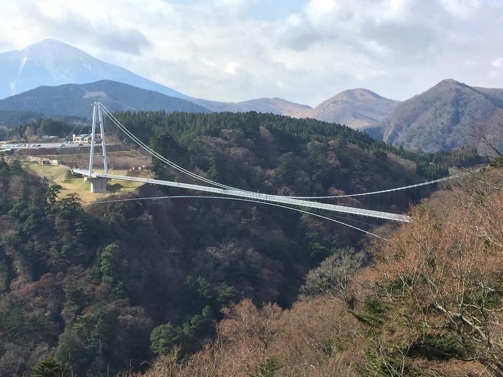 凄い吊橋!