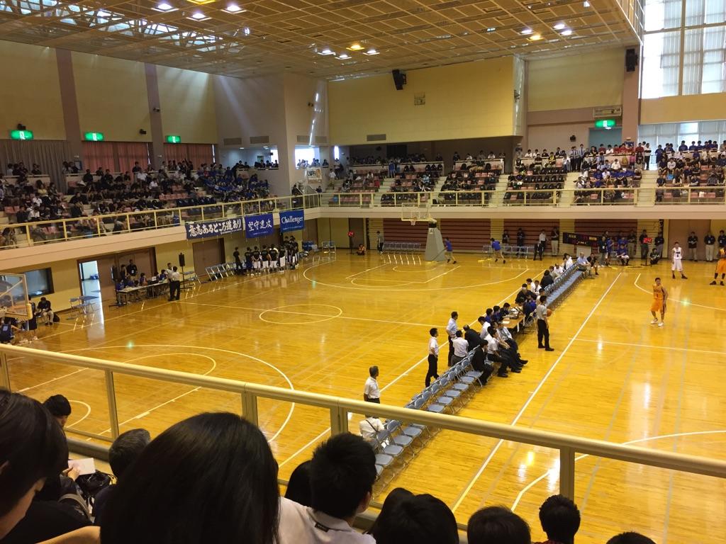 高校バスケ、春季関東大会観戦