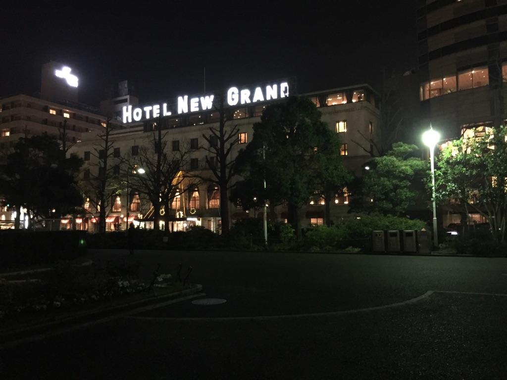 横浜の夜を堪能