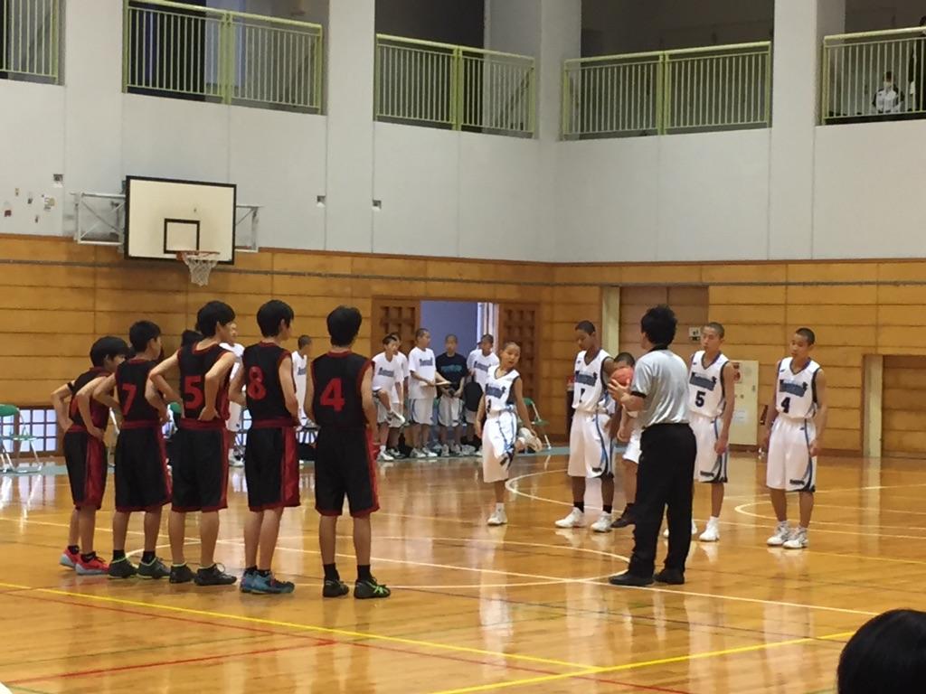 神奈川の中学バスケ観戦