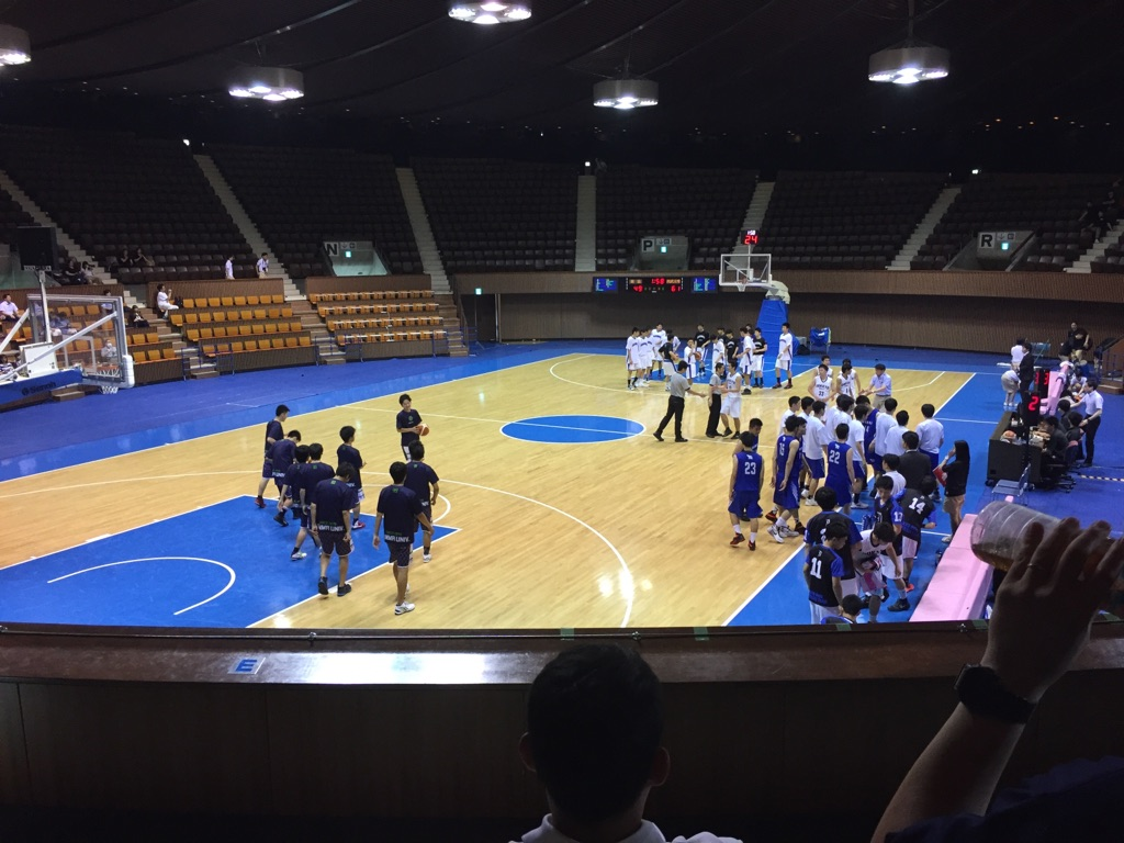 大学バスケ新人大会