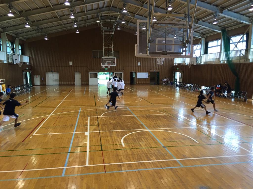 中学練習試合0725