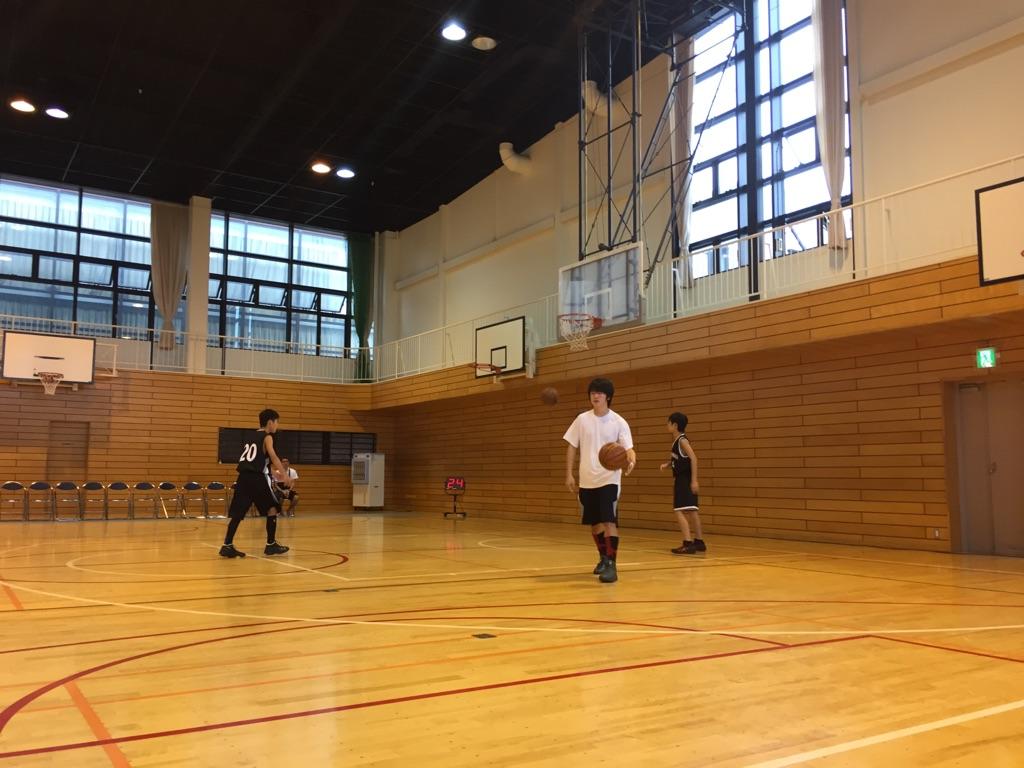 中学バスケ練習試合1010