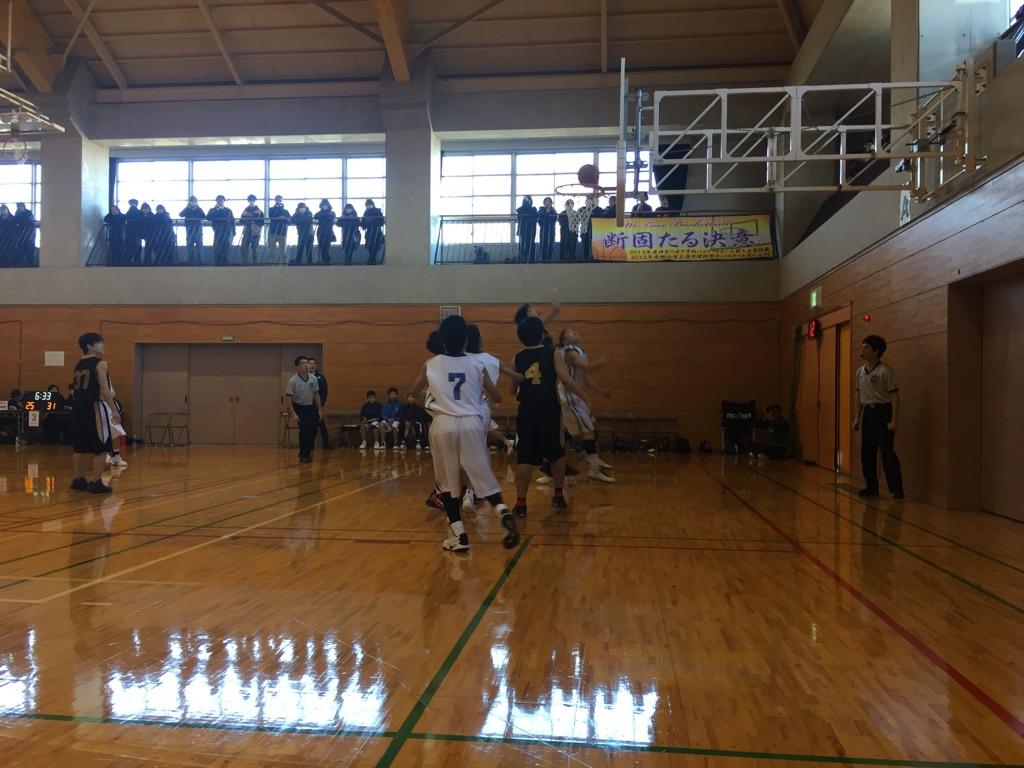 中学バスケの県大会