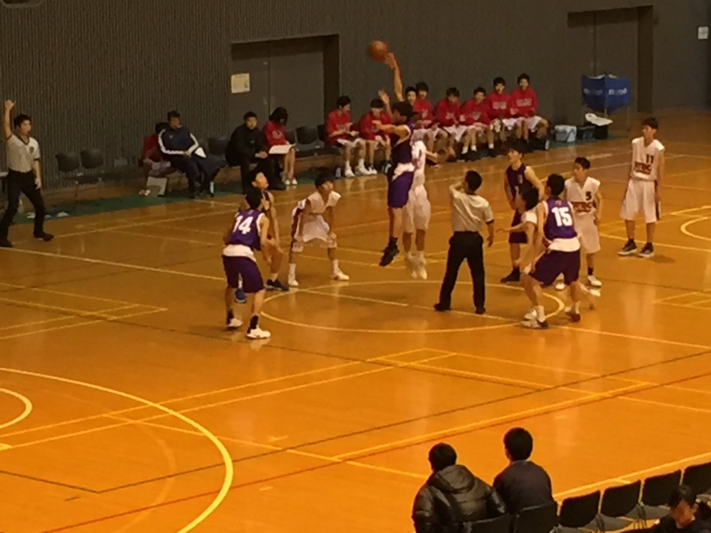 神奈川高校バスケ・県大会観戦