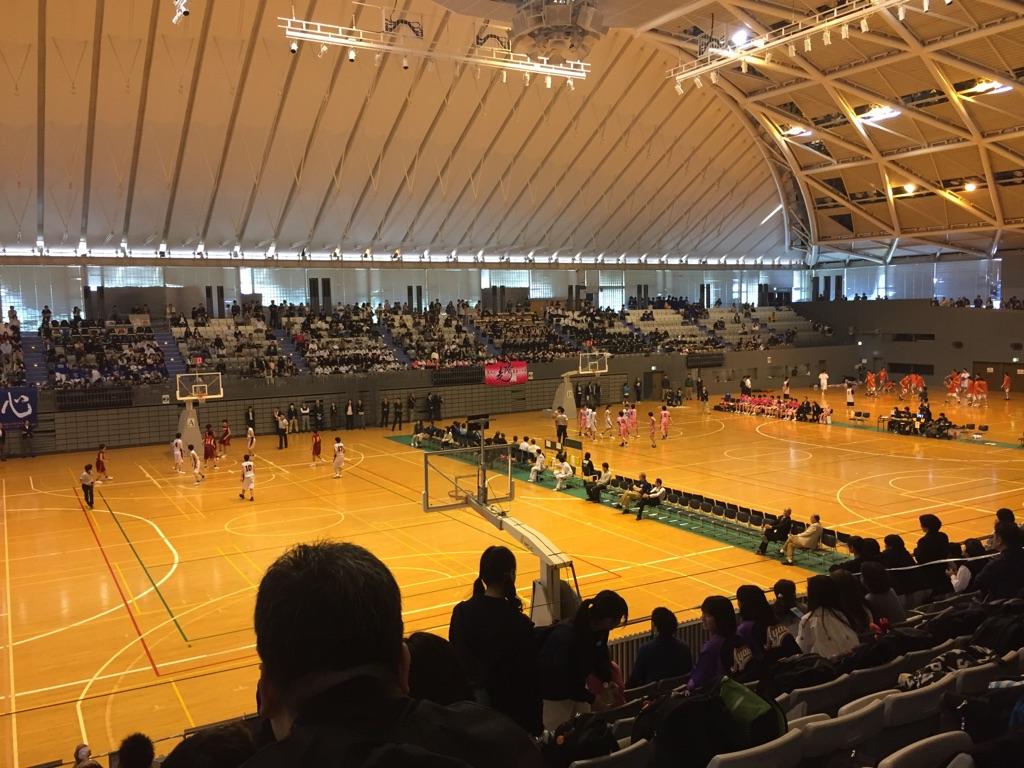 県高校バスケ観戦