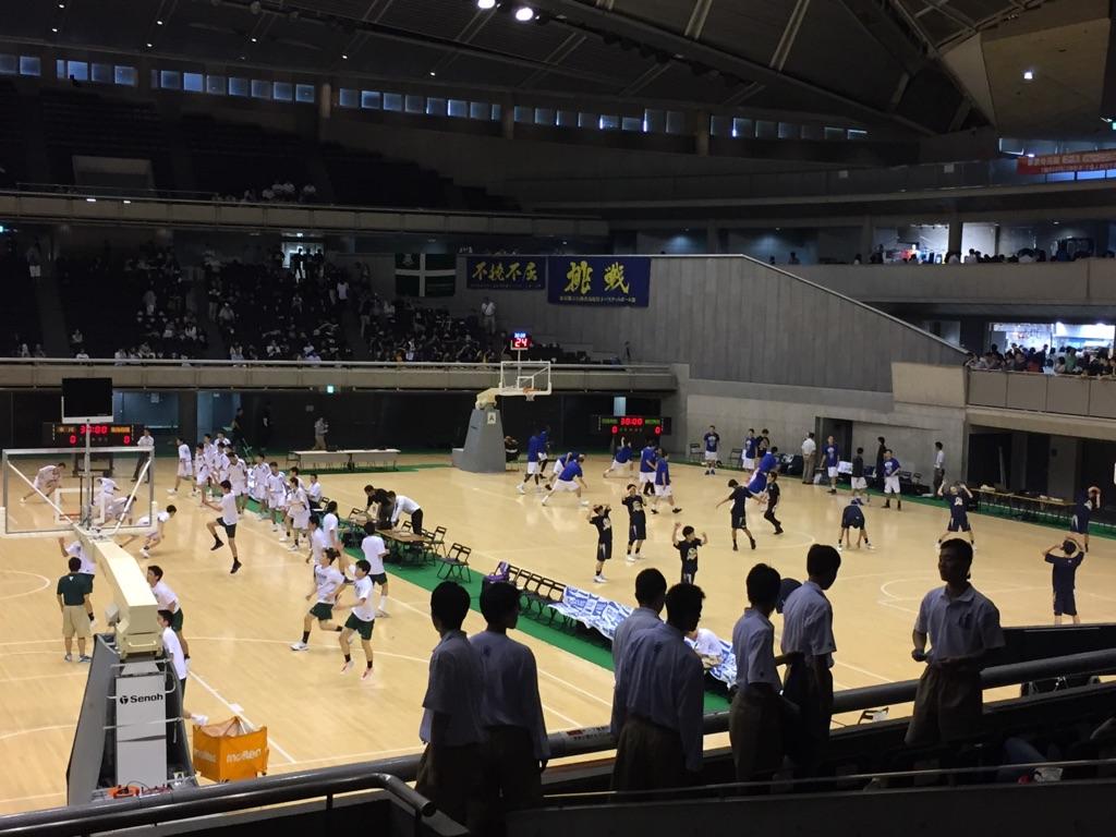 高校バスケ関東大会観戦