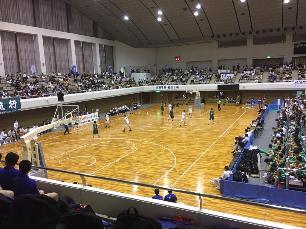 バスケ・インターハイ観戦