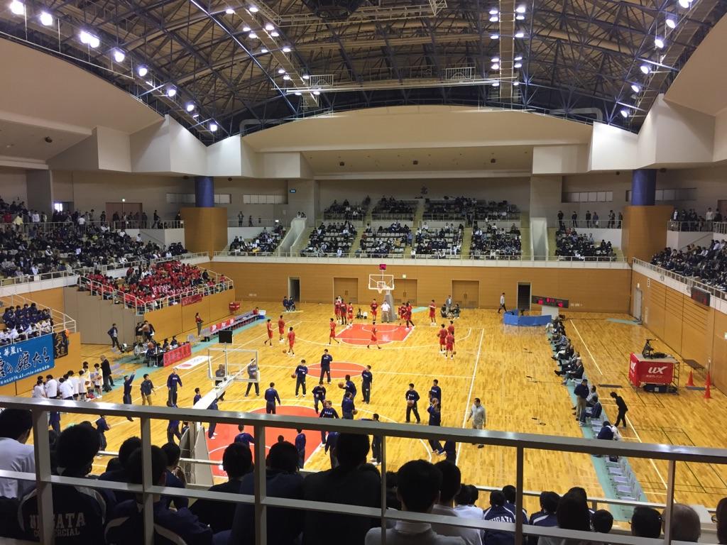 新潟の高校バスケ!
