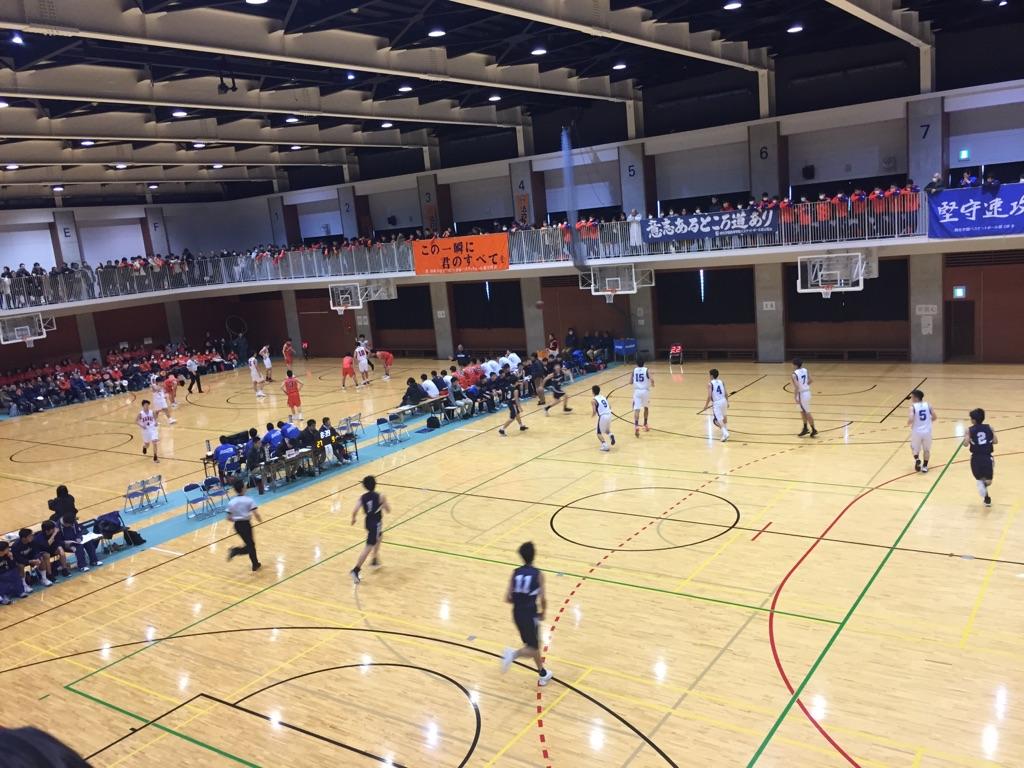 神奈川の高校バスケ観戦