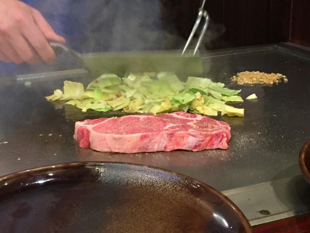 甲府でステーキ