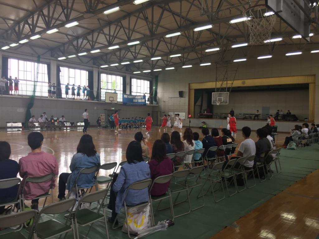 高校バスケの応援