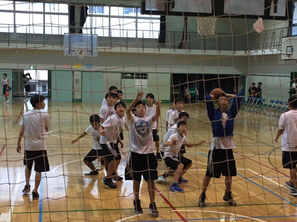中学練習試合0902
